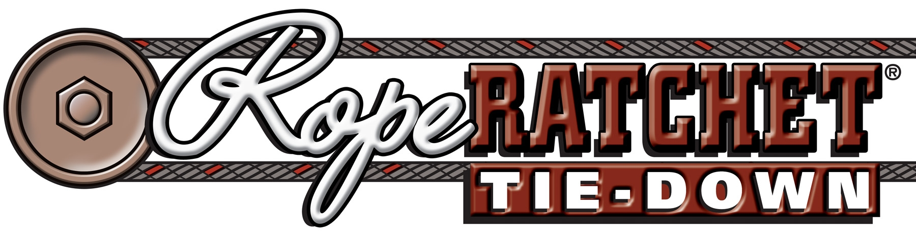 Rope Ratchet Tie Down Logo