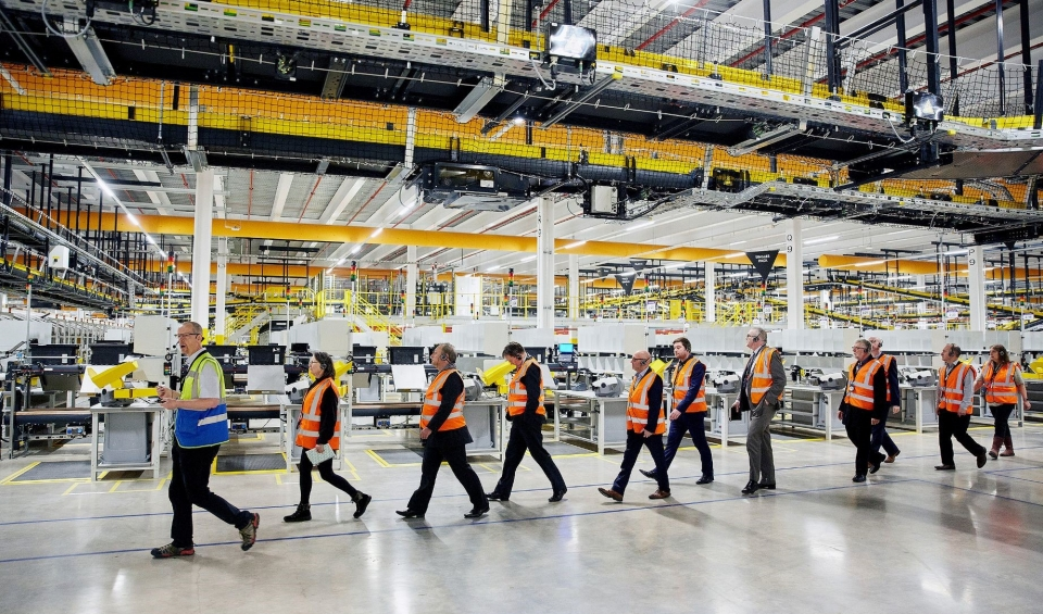 Vimpex delivers at new Amazon fulfilment centre